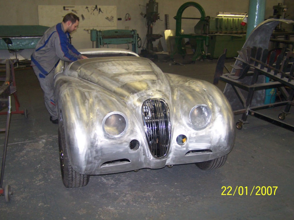 Make A Car >> Jaguar - Aluminium Car Bodies